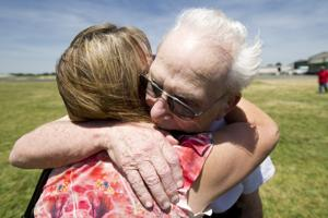 Longtime friends, age 85 and 93, make soft landing at Lodi Airport