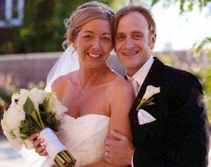 Frederick Cook, Dani Binegar were married at St. John's Episcopal Church
