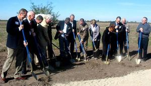 Stockton breaks ground on Delta Water Supply Project