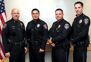 Three new Galt police officers sworn into duty