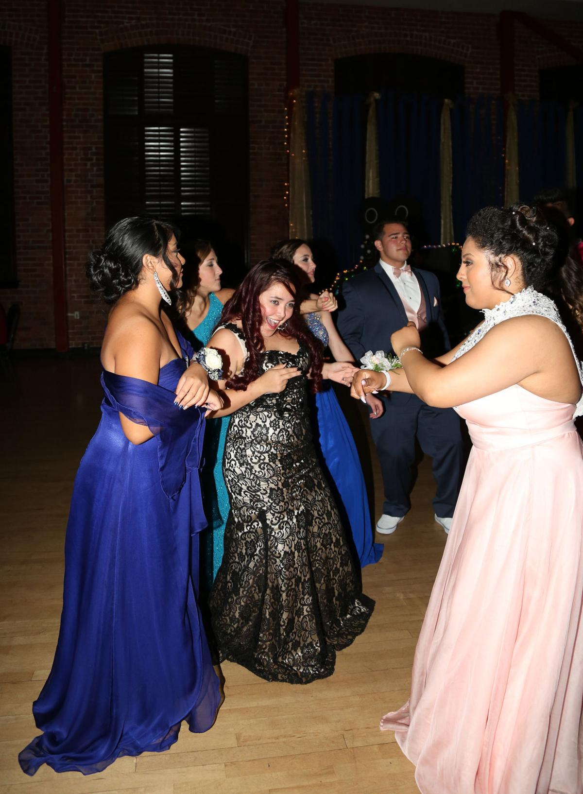 Galt High School holds prom at Hutchins Street Square in Lodi
