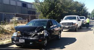 Three-car crash results in minor injuries