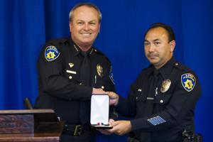 Lodi Police Chief Mark Helms salutes courage, decency among officers, volunteers