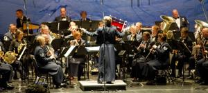 United States Air Force Band attracts full house at Hutchins Street Square