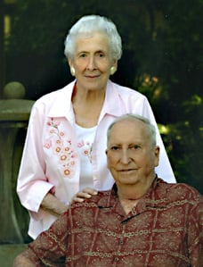 Janet and Ellsworth Beckman celebrate 70th anniversary