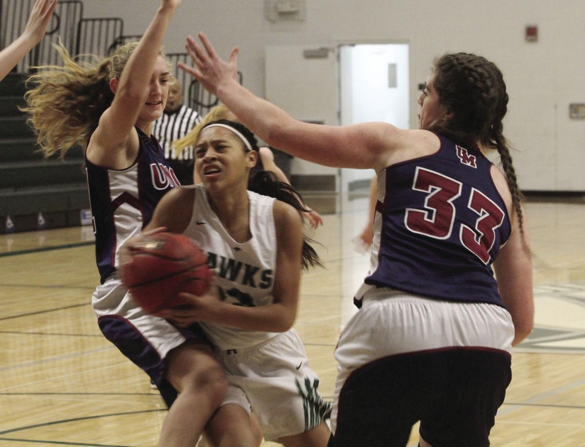 Girls basketball: D-backs muscle past Hawks