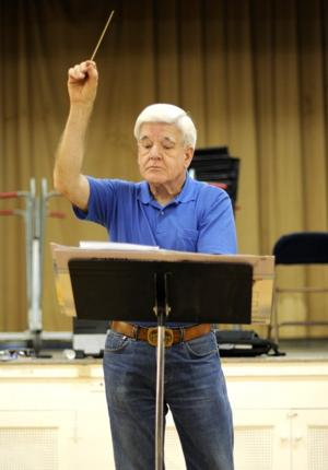 Bob Gross inducted into Lodi Community Hall of Fame for support of local music programs