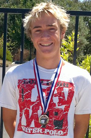 C.J. Porter takes high-point award at Tuolumne County Aquatics swim meet