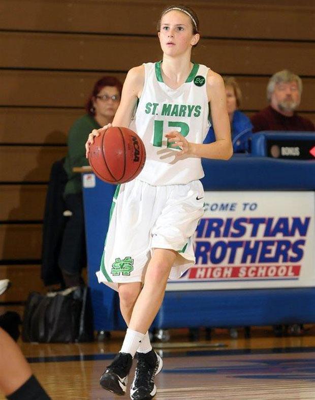 Girls basketball: Lodi's Kat Tudor holding court with Rams