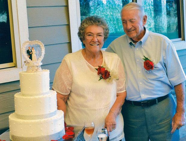 Larry and Shirley Moore celebrate 60 years of marriage with luncheon