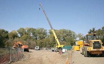 Massive pipeline project