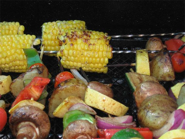 Grilling goes meatless