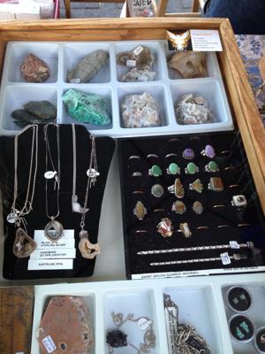 Phoenix Rising rocks the Downtown Lodi Farmers Market with gems