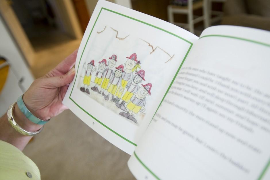 Children's author Diane Villata shares publishing process
