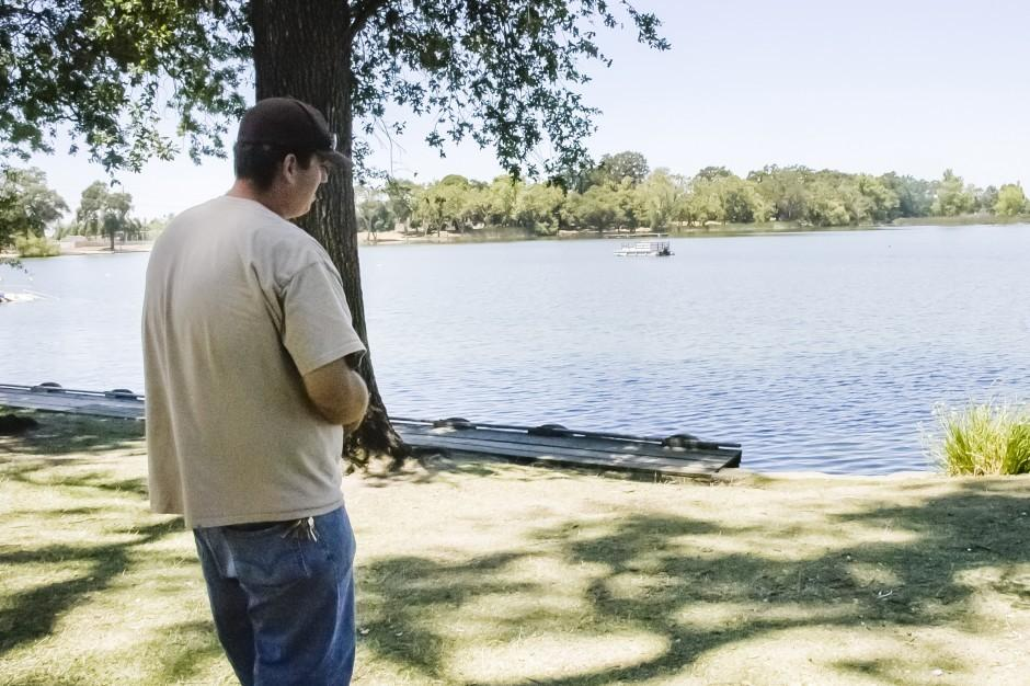 City parks workers recount their rescue of a woman who fell into Lodi Lake