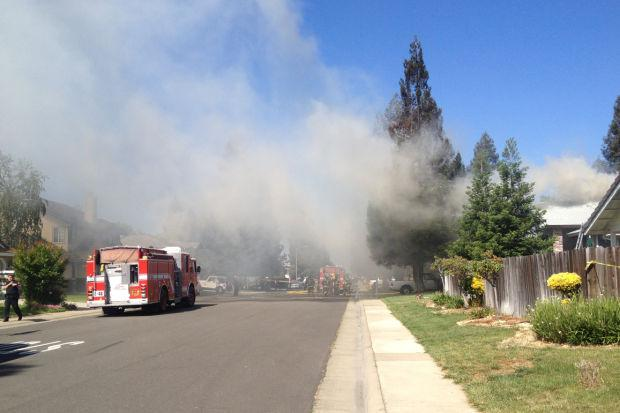 Fire destroys home in Galt; no serious injuries reported