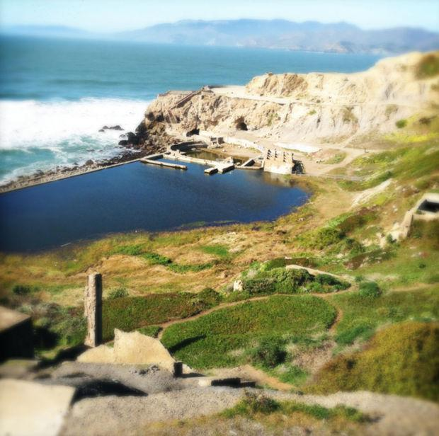 Visit the Sutro Baths in San Francisco for some adventure