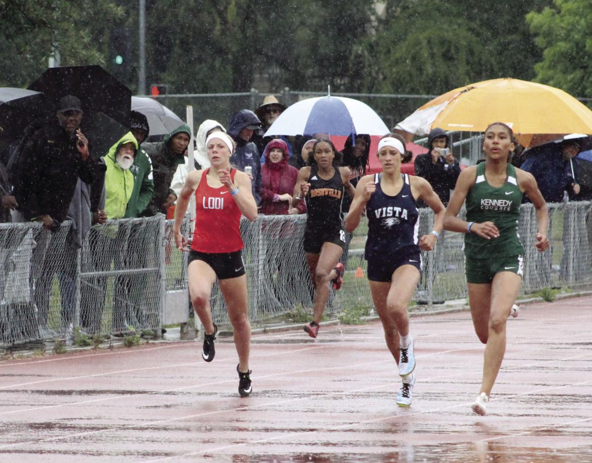 SJS Masters track and field: Six Flames headed to state