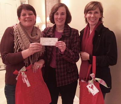 Soroptimists host Christmas party for women at shelter