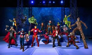 Action-packed 'Marvel Universe Live! Age of Heroes' in Sacramento