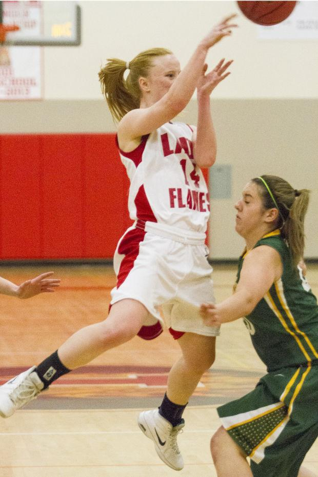Girls basketball: Flames top Bulldogs, clinch playoff berth