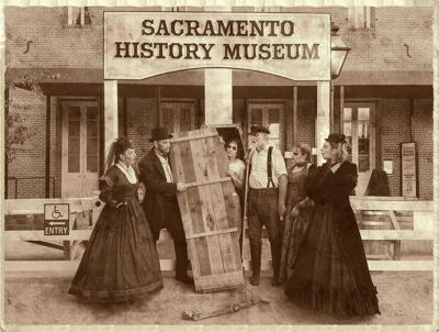 Ghosts return to Old Sacramento in haunting tour