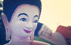 View more than 90 colorful statues at Stockton's Cambodian Buddhist Temple
