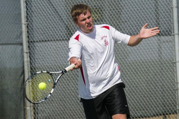 Boys tennis: Flames beat Yellowjackets