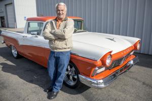 Steve Casado's fully restored 1957 Ford Ranchero grabs attention at show