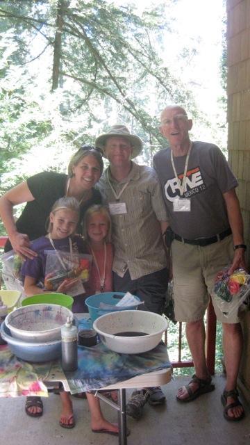 Families enjoy fellowship and banana slugs at Mount Hermon's Summer Family Camp