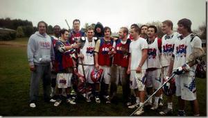 Jordan Hunnell part of USA Starz Lacrosse team