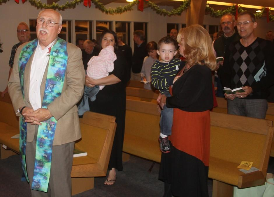 David Hill honored for 30 years at Grace Presbyterian Church