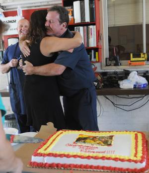 Mike Harden hangs up his hat after 27 years with the Lodi Fire Department