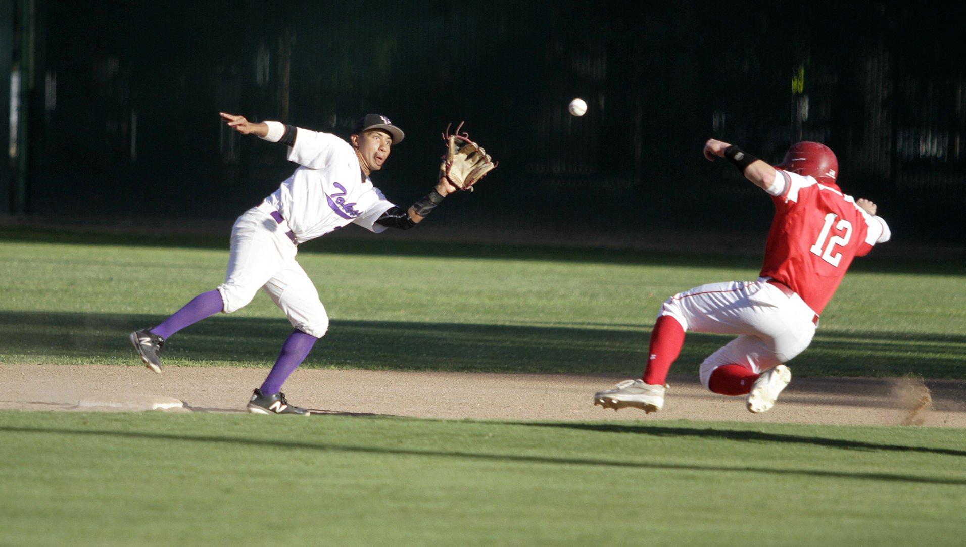 High school baseball Lodi surges after strange