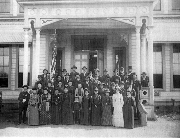 Lodi Civil War veterans organized Hartford Post in 1890