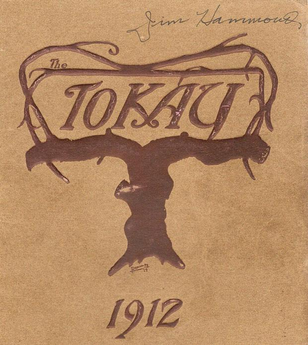 Yearbook documents Lodi Union High School's Class of 1912