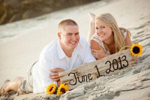 Cody Cox, Lauren Harr get engaged on the beach at midnight in Monterey