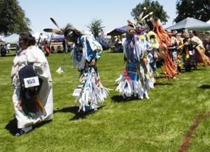 Native American powwow celebrates heritage, Father's Day