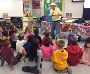 Uncle Jer brings beekeeping wisdom to the Lodi Public Library