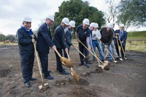 Local officials celebrate construction of $36.5 million water treatment plant