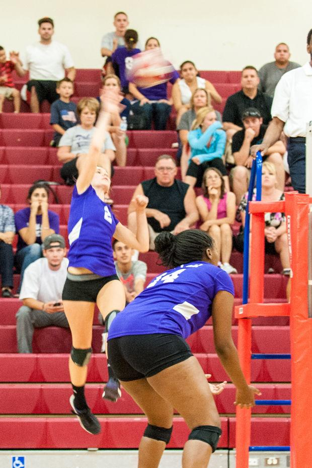 Volleyball: Flames top Tigers in straight sets