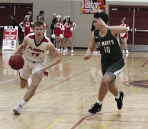 Boys basketball: Flames close, Rams pull away