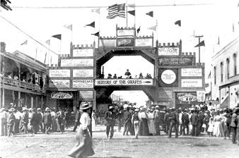 Tokay Carnival, Lodi's first festival, held 100 years ago