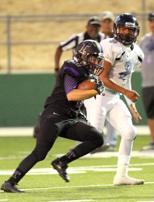 Football: Tigers topple Titans