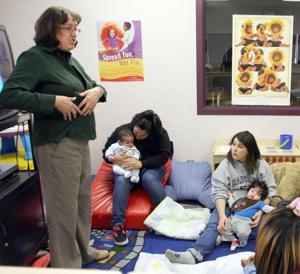 Teen moms seek out New Horizons