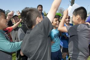 Washington Elementary School takes part in contest to promote exercise, health