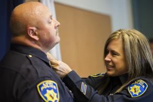 Two Lodi police officers promoted in special ceremony
