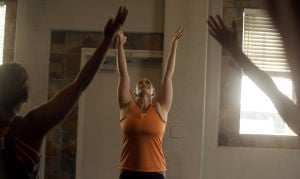 Yoga instructor Elisabeth Hensel shares experience of the practice