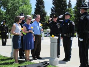 Local, state and national memorials for fallen Galt Police Officer Kevin Tonn begin this week