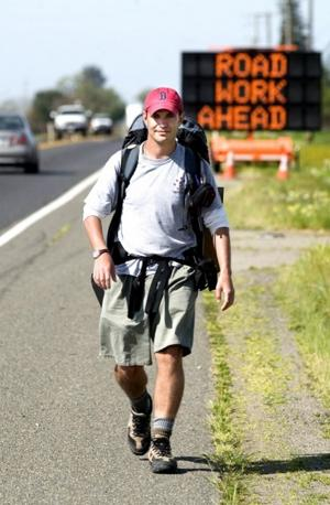 Man who walked through Lodi will meet president